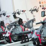Wioślarze GX w klubie fitness